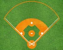Baseballsportfeld stockfoto