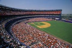 Baseballstadion stockbilder