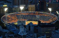 Baseballstadion Royaltyfri Bild