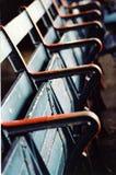 Baseballstadion-Sitze Stockfotografie