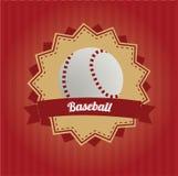 Baseballsymbol Arkivbild
