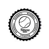 Baseballsymbol Royaltyfri Bild