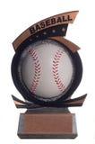 Baseballtrofé Arkivbild