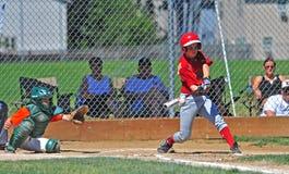 baseballungdom Royaltyfri Fotografi