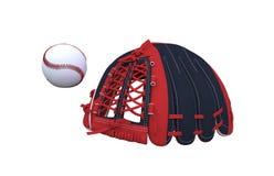 Baseballuppsättning Royaltyfri Fotografi