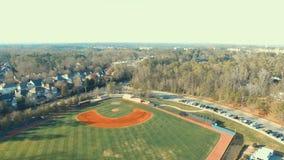 Baseballvildmark Arkivbilder