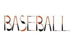 Basebol ilustração stock