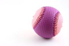 Basebol cor-de-rosa e roxo Fotografia de Stock Royalty Free