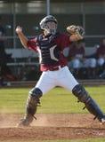 Basebol da High School Foto de Stock Royalty Free