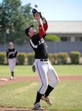 Basebol da High School Fotografia de Stock