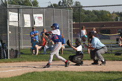 Basebol da liga júnior Fotos de Stock Royalty Free