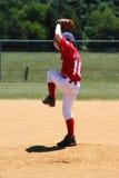 Basebol da liga júnior Fotografia de Stock Royalty Free
