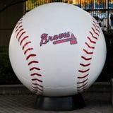 Basebol de Braves Fotografia de Stock Royalty Free