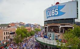 Basebol de Chicago Fotos de Stock