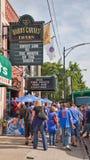 Basebol de Chicago Imagens de Stock Royalty Free