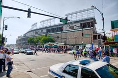 Basebol de Chicago Fotografia de Stock Royalty Free