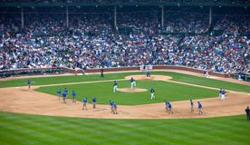 Basebol de Chicago Fotografia de Stock