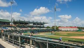 Basebol de Roger Dean Stadium Jupiter Florida fotografia de stock royalty free