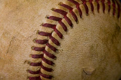 Basebol desgastado velho Foto de Stock Royalty Free