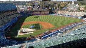 Basebol do Dodger Stadium Imagem de Stock Royalty Free