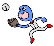 Basebol do jogo Imagens de Stock