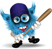 Basebol do monstro Fotografia de Stock Royalty Free