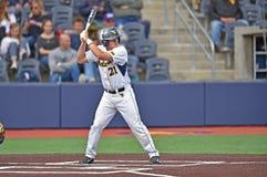 2015 basebol do NCAA - WVU-TCU Imagem de Stock Royalty Free
