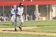 Basebol do time do colégio da High School Fotografia de Stock