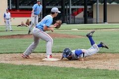 Basebol do time do colégio da High School Fotografia de Stock Royalty Free