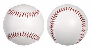 Basebol - duas vistas Fotos de Stock Royalty Free