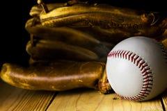 Basebol e luva Fotos de Stock
