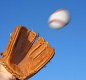 Basebol e luva Imagem de Stock