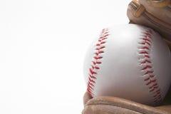 Basebol e luva de basebol Imagem de Stock Royalty Free