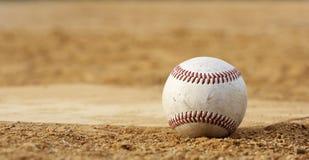 Basebol em repouso Fotografia de Stock