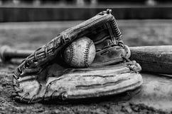 Basebol Glory Days Imagens de Stock Royalty Free
