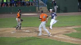 Basebol, jogadores, equipe, esportes video estoque