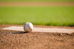 Basebol no monte Fotos de Stock