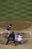Basebol - o passo Foto de Stock Royalty Free