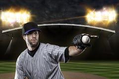 Basebollspelare Royaltyfria Bilder