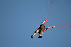 Basejumper royalty free stock images