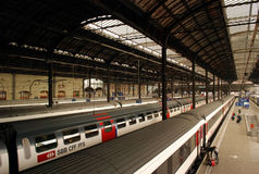Basel-Bahnstation Lizenzfreies Stockfoto