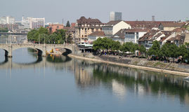 Basel canal Royalty Free Stock Photo
