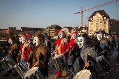 Basel Carnival Royalty Free Stock Photography
