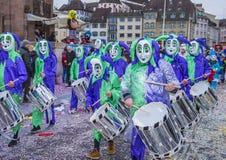 2017 Basel Carnival Stock Photography