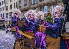 2017 Basel Carnival Stock Photo