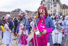2017 Basel Carnival Stock Images