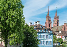 Basel Cathedral Stock Photography