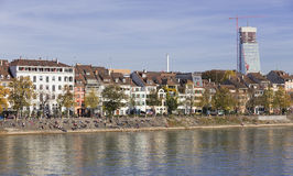 Basel cityscape Stock Photography