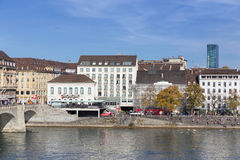 Basel cityscape Royalty Free Stock Images