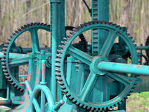 Basel - Cogwheel / Watergate, Zahnrad / Schleuse Stock Photography